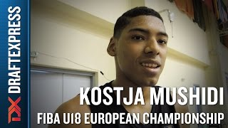 Kostja Mushidi 2015 FIBA U18 European Championship Interview