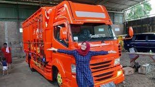 Download Video Truck Oren Paling Keren || Karoseri Serbaguna MP3 3GP MP4