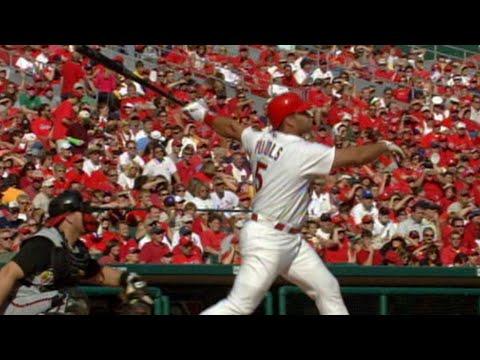 Video: Albert Pujols hits his 41st home run of 2005