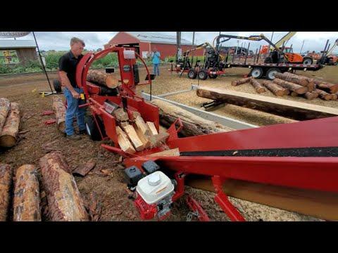 Blacks Creek Innovations Firewood Processor 2000B Splitter Machine