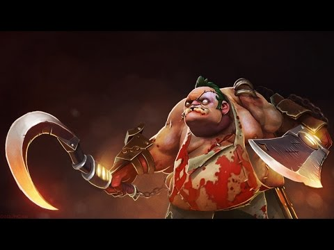 Dota 2 Pudge I played for the first time