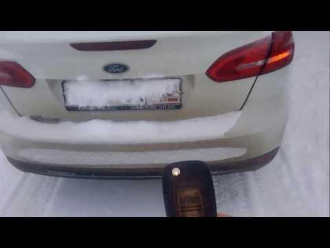 открытие багажника форд фокус 3 седан
