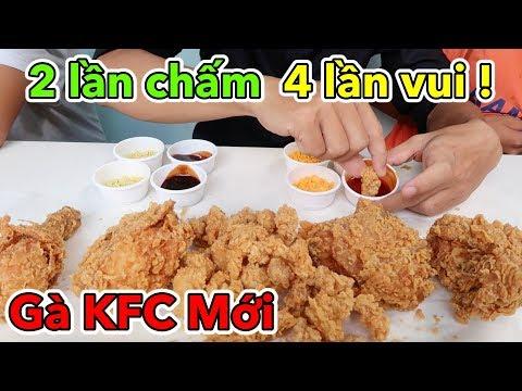 Lâm Vlog - Lần Đầu Ăn Thử Gà Rán KFC Mới | KFC DOUBLE DIP - 2 LẦN CHẤM 4 LẦN VUI - Thời lượng: 12:05.