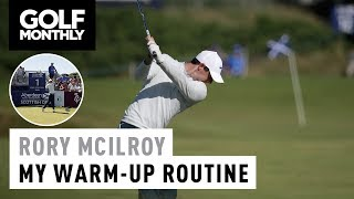 ►Watch Rory McIlroy's pre-round warm-up routine to see how the Northern Irishman prepares for a round of golf, including range time and putting practice► Become a FREE SUBSCRIBER to Golf Monthly's YouTube page now - https://www.youtube.com/golfmonthly► For the latest reviews, new gear launches and tour news, visit our website here - http://www.golf-monthly.co.uk/► Like us on Facebook here - https://www.facebook.com/GolfMonthlyMagazine►Follow us on Twitter here - https://twitter.com/GolfMonthly►Feel free to comment below! ►Remember to hit that LIKE button if you enjoyed it :)