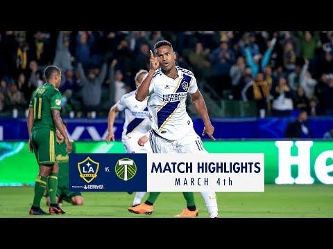 Video: HIGHLIGHTS: LA Galaxy vs. Portland Timbers   March 4, 2018