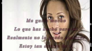 Tamia     So Into You      Subtitulado en Español