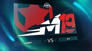GMB vs M19 — Неделя 1 День 1 / LCL / LCL / LCL