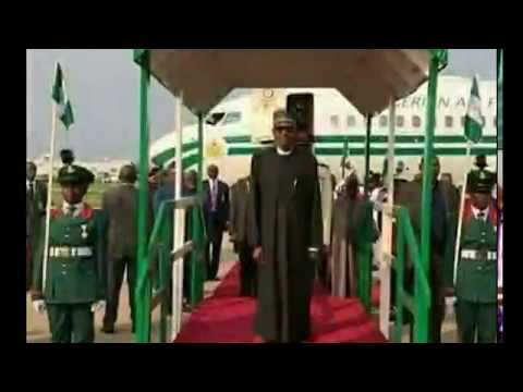 President Buhari On His Working Visit To Maiduguri, Borno State