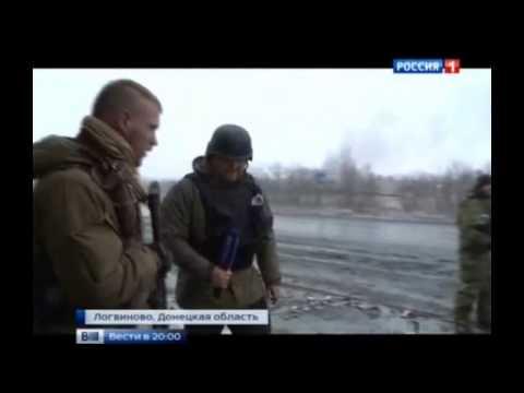 Debaltsevo fully cut off by DPR self-defense militia spetsnaz: combat footage [ENG Subs]