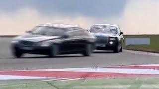Video Vault: Rolls-Royce Phantom Vs Maybach 62... On-track (2008)