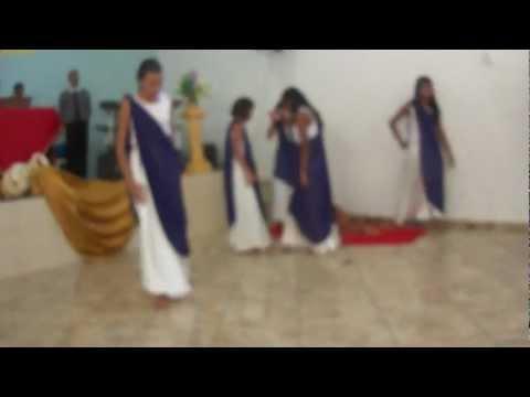 Ministério de dança da IEQ em Taguaí sp