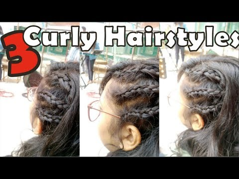 3 Short Curly Hairstyles For Bad Hair Days  Summer EID 2018
