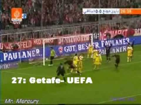 Sus goles en el Bayern Munich 1