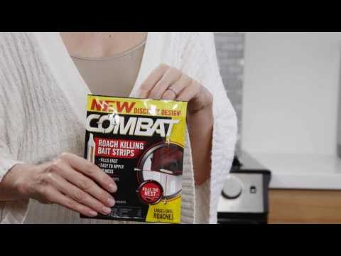 How to Use Combat Roach Killing Bait Strips
