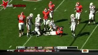 Jack Tyler vs Clemson (2012)