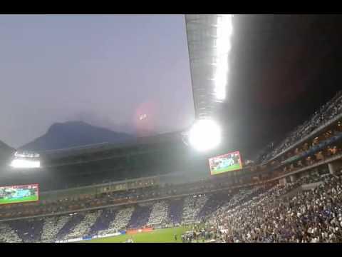 Recibimiento mty vs pachuca 2016 - La Adicción - Monterrey