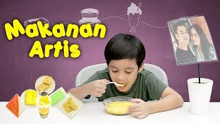"Video KATA BOCAH tentang Makanan Artis | #12 feat Adhiyat ""Ian"" Pengabdi Setan MP3, 3GP, MP4, WEBM, AVI, FLV April 2019"