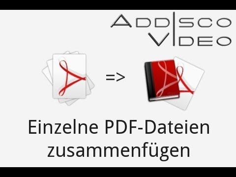 Einzelne PDF-Dateien zu einer PDF-Datei zusammenfügen | PDFCreator