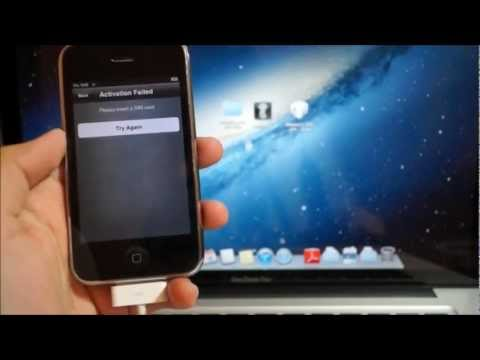 hacktivate - This video will show you how to hacktivate your iPhone 3GS & iPhone 4 on iOS 6.0 6.0.1 6.0.2 and 6.1 so you can bypass the activation screen without a sim ca...