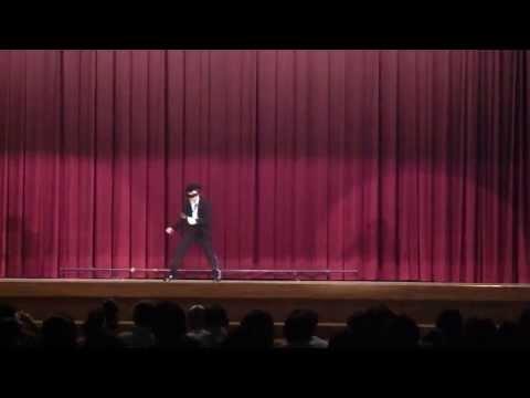 """2013'城端中学校 学習発表会 Michael Jackson """"Sooth Criminal """""""