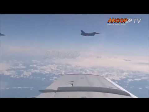 International Highlight NATO jet approaches Russian defense minister's plane