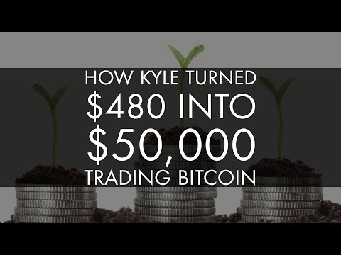 Trading Bitcoin – How to Turn $480 into $50,000+