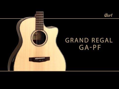Cort Acoustic Guitar, GA-PF Bevel