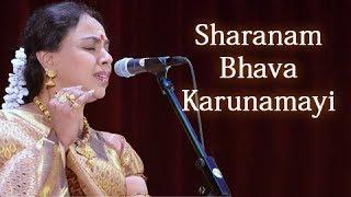 Sharanam Bhava Karunamayi - Sudha Raghunathan Live - Isai Ragam