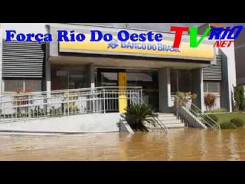FORÇA RIO DO OESTE.ENCHENTE DE JUNHO DE 2014