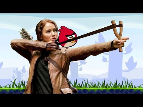ANGRY HUNGER GAMES(A HUNGER GAMES PARODY)