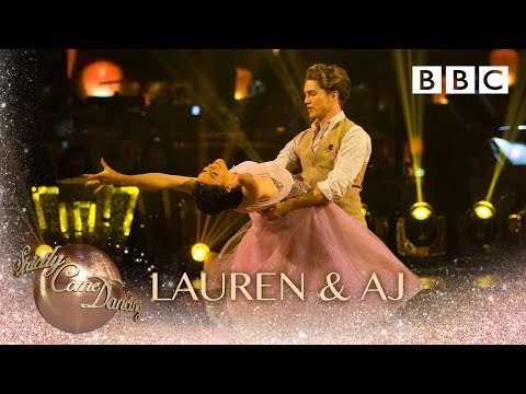 Lauren & AJ Waltz To 'You Are The Reason' By Calum Scott & Leona Lewis- BBC Strictly 2018