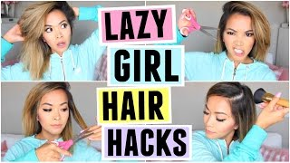 HAIR HACKS FOR LAZY GIRLS! by ThatsHeart