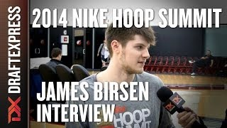 James Birsen - 2014 Nike Hoop Summit - Interview