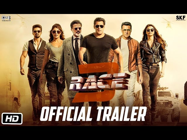 મોસ્ટ અવેઈટેડ ફિલ્મ ''Race 3''નું ટ્રેલર રિલીઝ