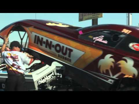 Being a Female Driver in the NHRA