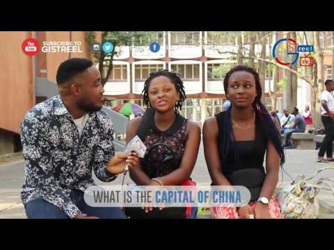 Gistreel Tv Strivia :- Spelling Test With UNILAG Students...