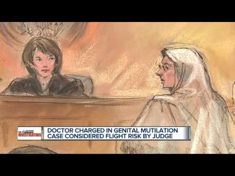 Detroit doctor accused of female genital mutilation denied bond (видео)
