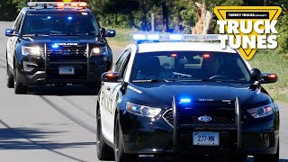 Police Car for Children   Kids Truck Video - Police Vehicles