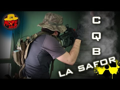 CQB La Safor | Action Gameplay | Mobius Scope Cam | Mope Airsoft España