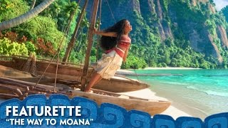 """""""Moana"""" filmmakers invite moviegoers to venture behind the scenes with """"The Way to Moana."""" Featuring commentary from filmmakers, voice talent, songwriters, and key advisors from the Pacific Islands, the new featurette dives into the research and collaboration that went into the film, helping to ensure the story celebrates the Pacific Island cultures that so deeply inspired it. Disney's Moana opens in theatres in 3D November 23."""