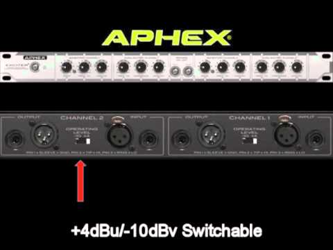 Aphex EXCITER Rack Training Video