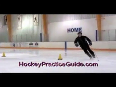 Former NHL Alan May Hockey Skating Practice Drills