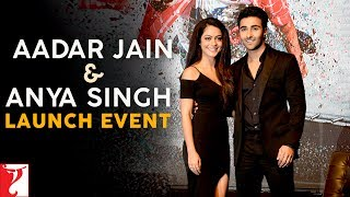 A starry event. Ranbir Kapoor & Anushka Sharma launch YRF's new actors, Aadar Jain & Anya Singh. Enjoy & Stay connected with us!► Subscribe to YRF: http://goo.gl/vyOc8o► Facebook: www.facebook.com/anyasinghofficial ► Twitter: twitter.com/anyasinghoff ► Instagram: www.instagram.com/anyasinghofficial