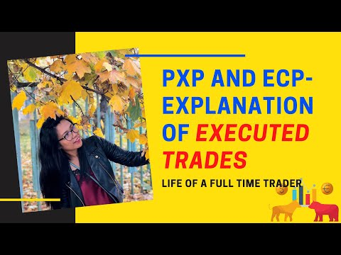 PXP And ECP- EXPLANATION OF EXECUTED TRADES