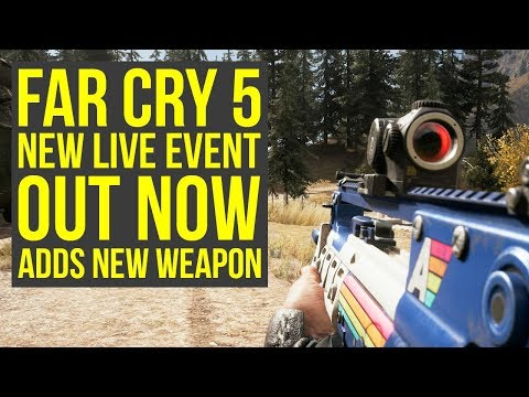 New Far Cry 5 Live Event OUT NOW - Adds New Assault Rifle & More (Far Cry 5 Arcade Nights)