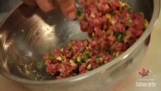 Serie de Recetas con Canada Beef: Josefina Santacruz (Capítulo 1- Steak Tartar)