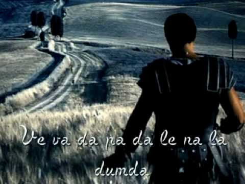 ♫ Soundtrack - Gladiator - Now We Are Free (with lyric).flv (видео)