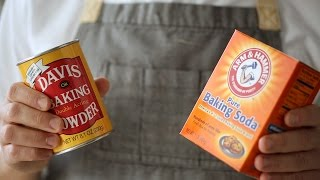 Baking Powder vs. Baking Soda- Kitchen Conundrums with Thomas Joseph by Everyday Food