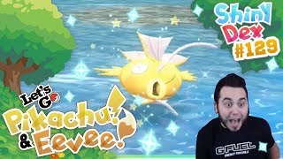 ROAD TRIP RANDOM SHINY MAGIKARP in POKEMON LET'S GO PIKACHU and EEVEE! by aDrive