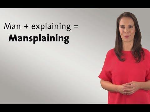 Mansplaining - Was ist das?